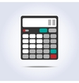 Calculator simple icon vector