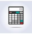 Calculator simple icon vector