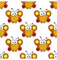 Cartoon butterfly seamless pattern vector