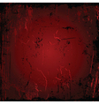 Red grunge vector