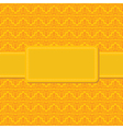 Seamless yellow background vector