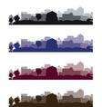 Cityscapes short vector