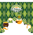 Saint patricks day baskground vector