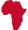 Africa map 3d vector