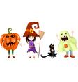 Halloween cartoons vector