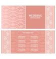 Wedding invitation  template vector