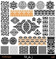 Arab and persian elements vector