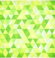 Green abstract triangle vintage background vector