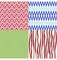 Set colorful vintage patterns vector