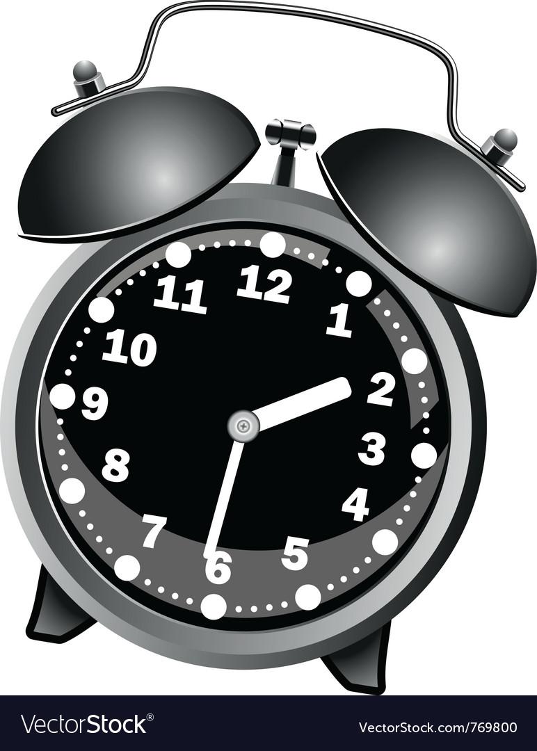 Classic alarm clock vector | Price: 3 Credit (USD $3)