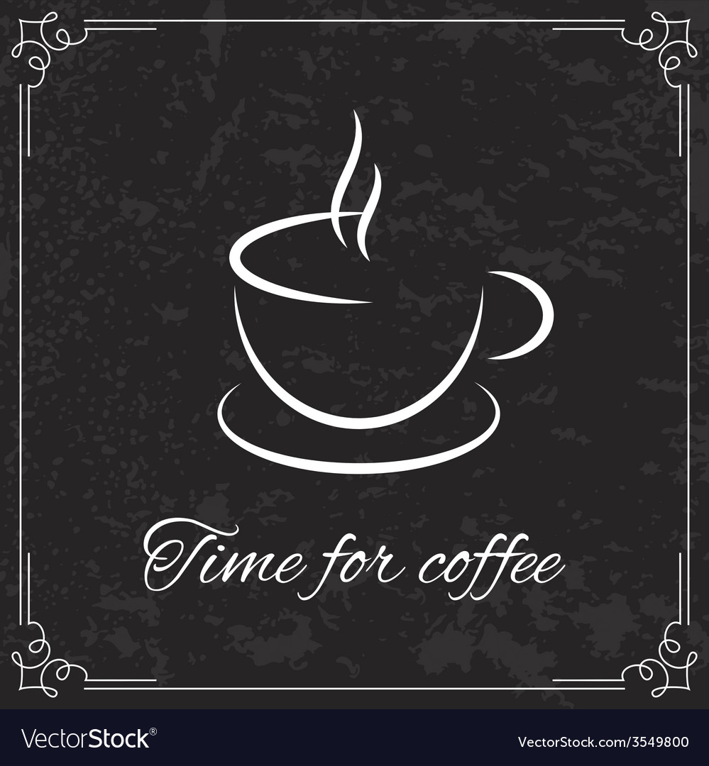 Coffee design for menu vector | Price: 1 Credit (USD $1)