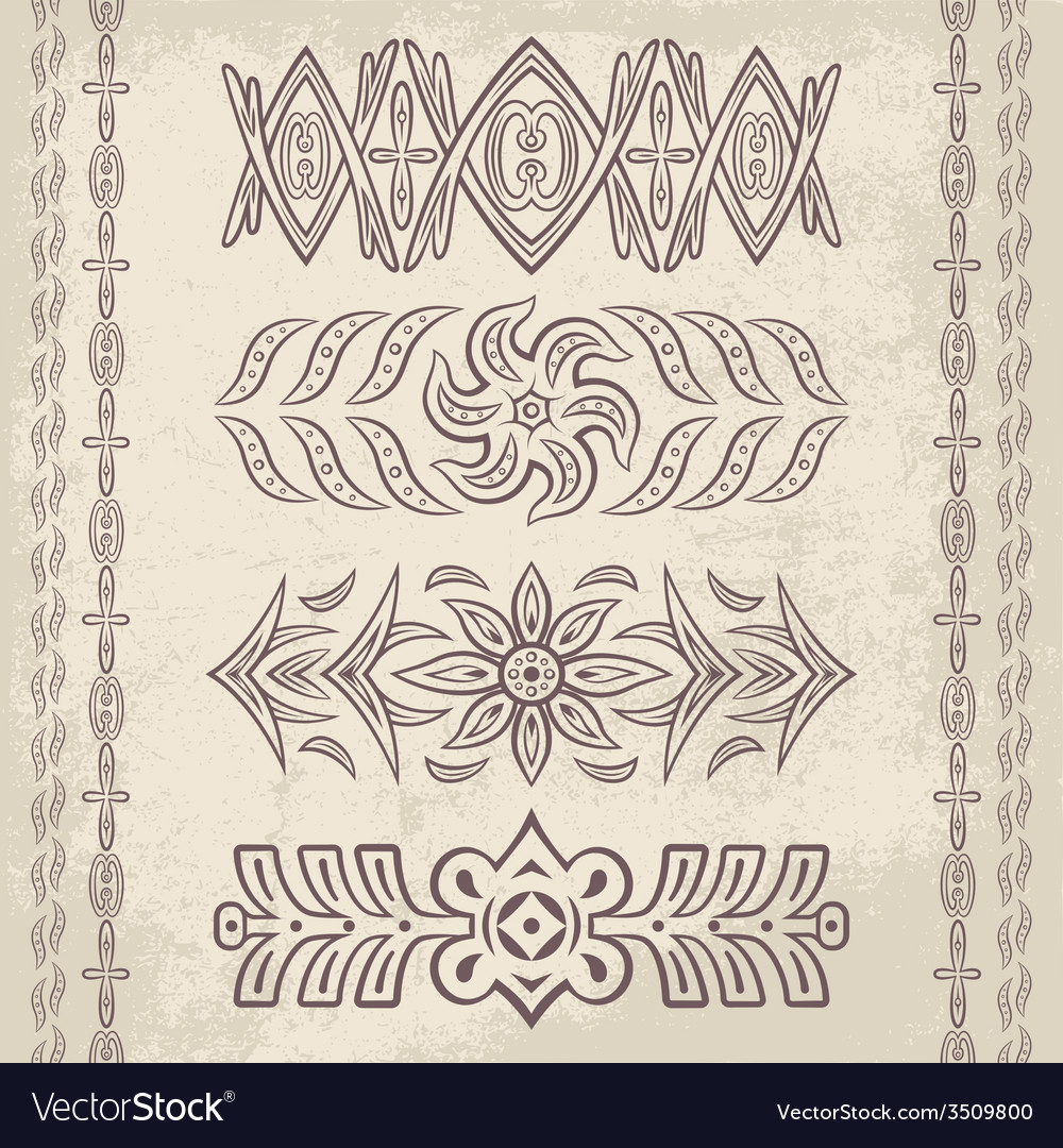 Decor elements5 vector | Price: 1 Credit (USD $1)