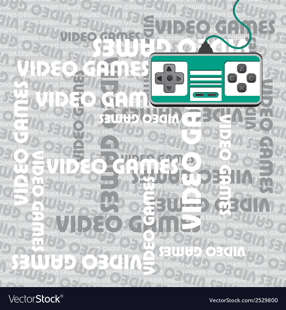 Gaming background vector | Price: 1 Credit (USD $1)