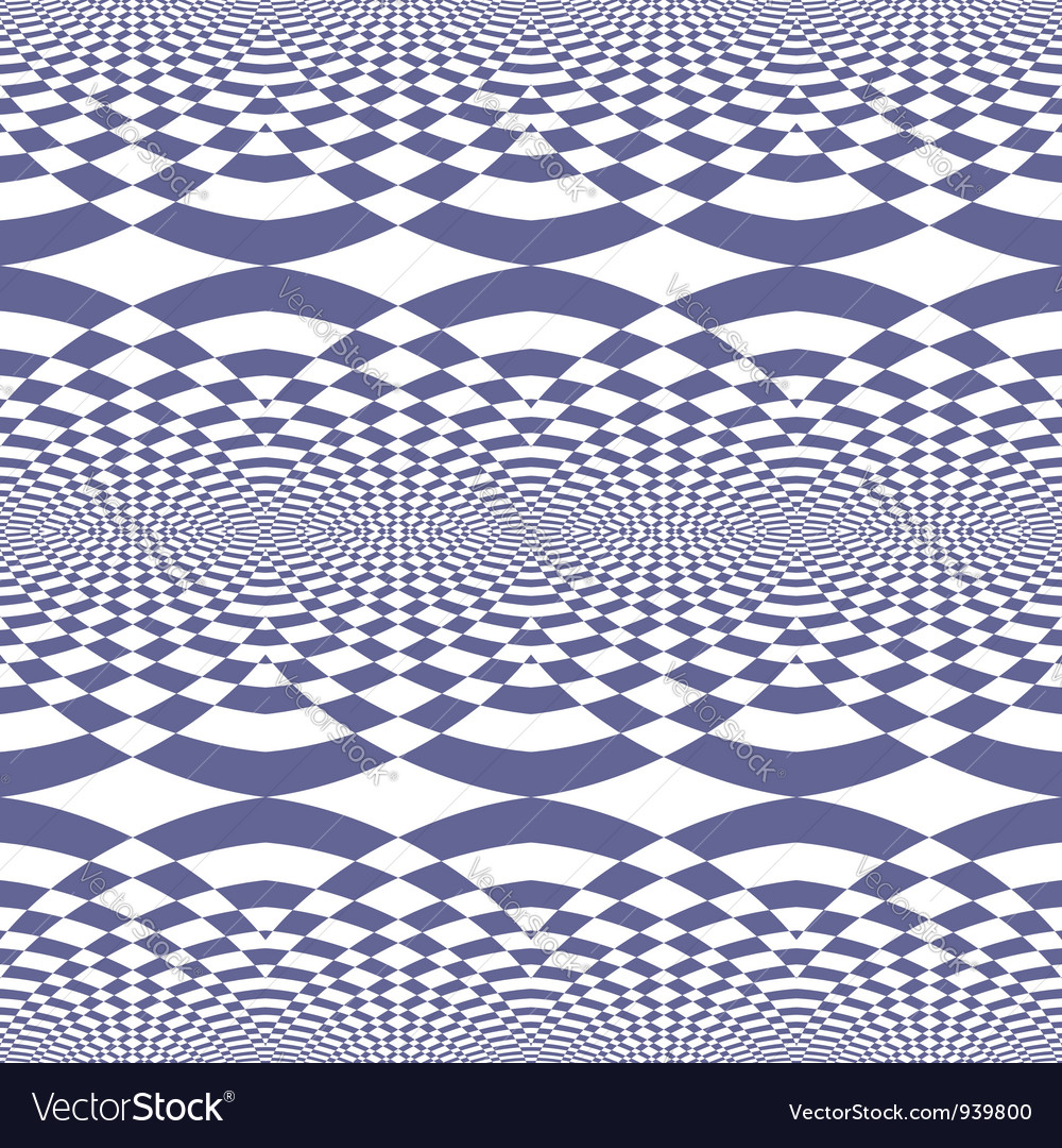 Seamless fancy op art pattern vector | Price: 1 Credit (USD $1)
