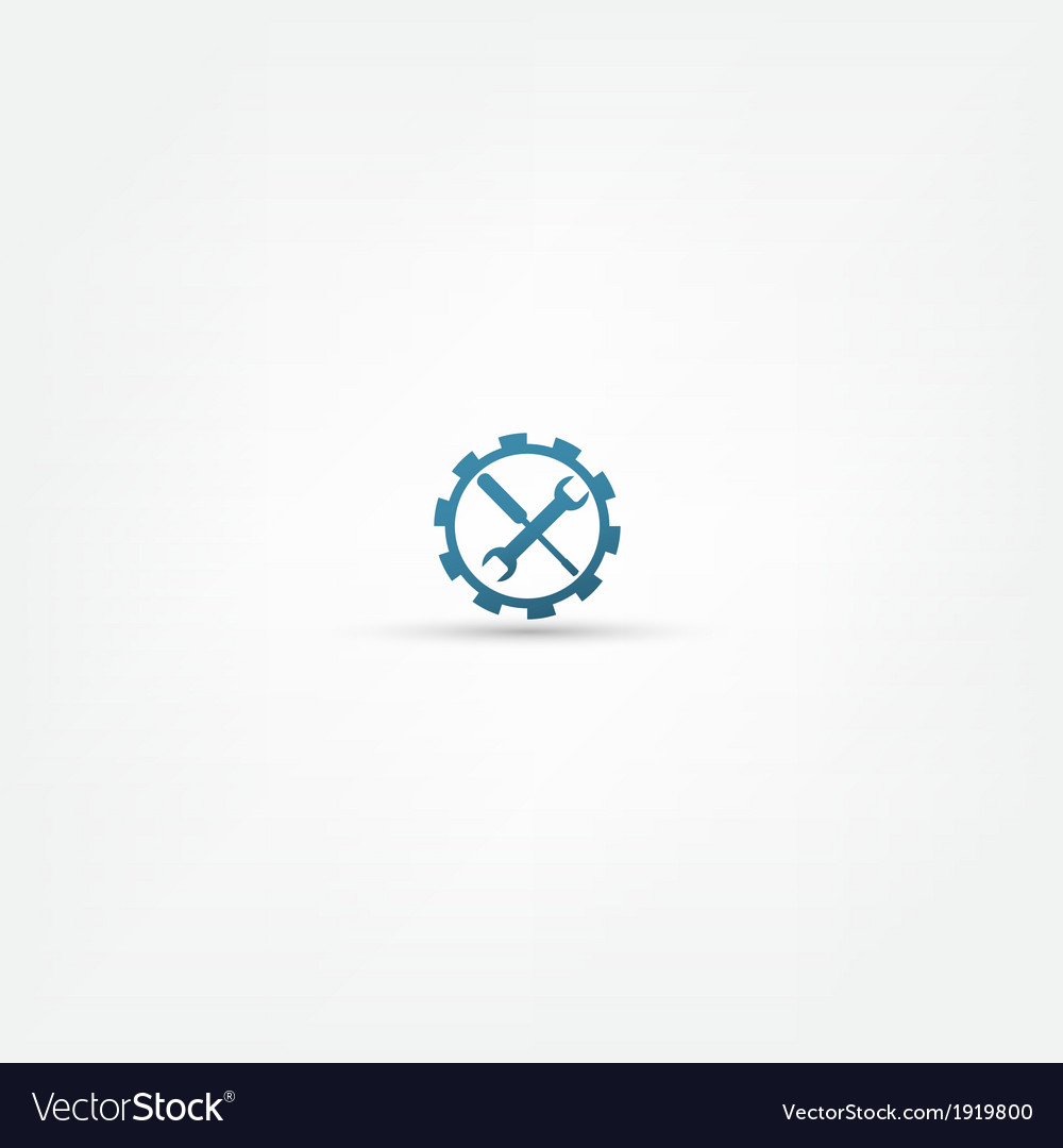 Setting icon vector | Price: 1 Credit (USD $1)