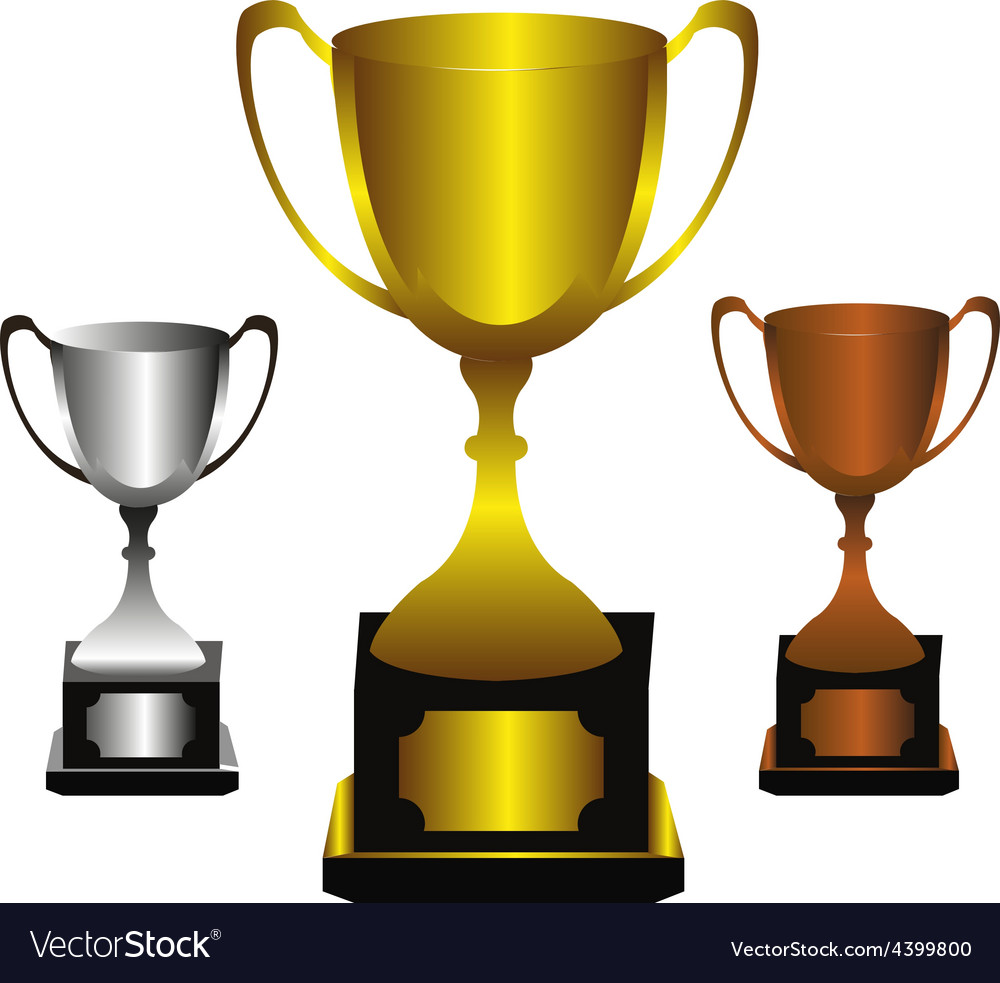 Trophies set vector | Price: 3 Credit (USD $3)