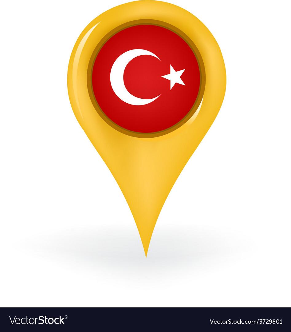 Location turkey vector | Price: 1 Credit (USD $1)