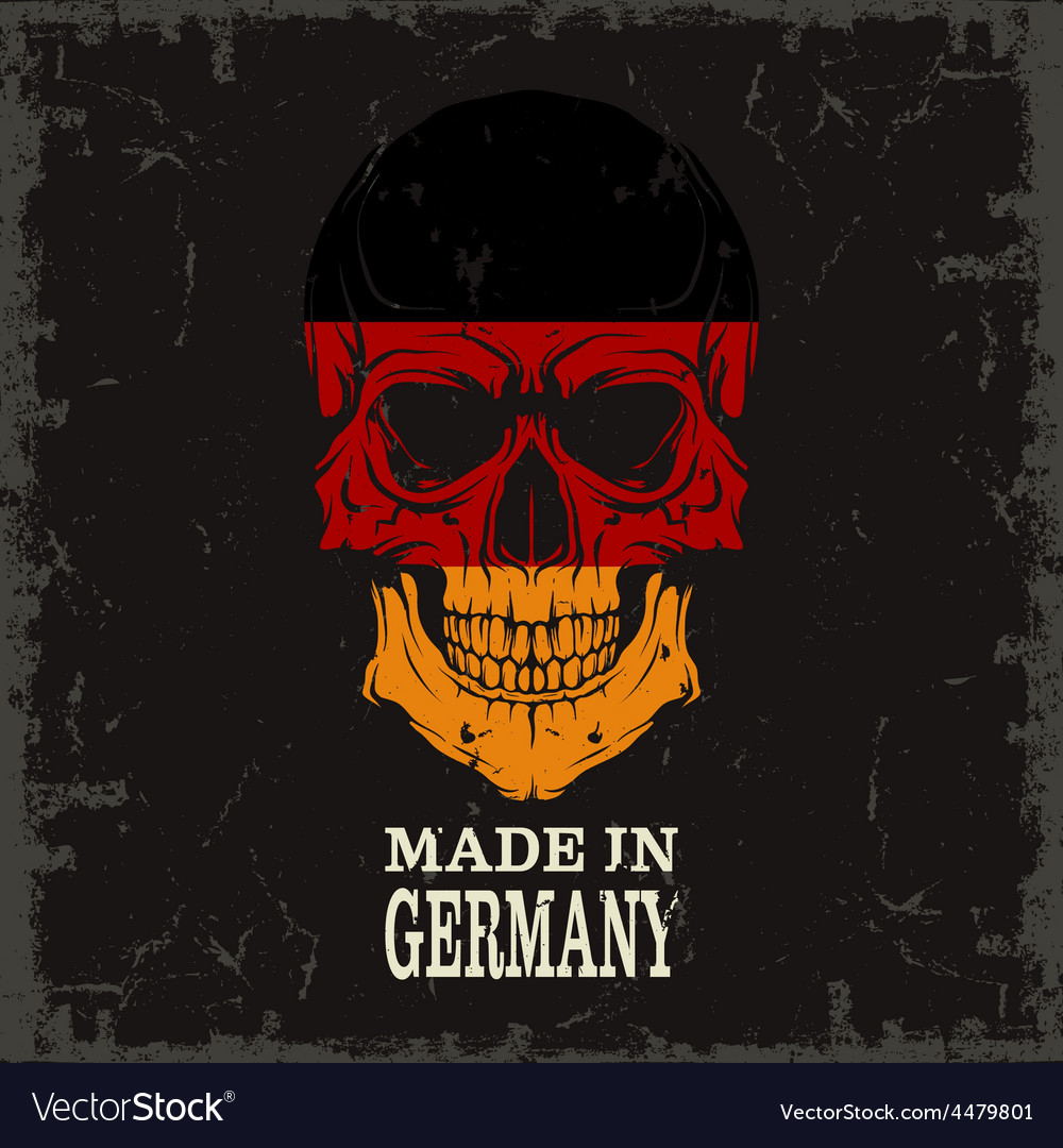 Skull color of the flag vector   Price: 1 Credit (USD $1)