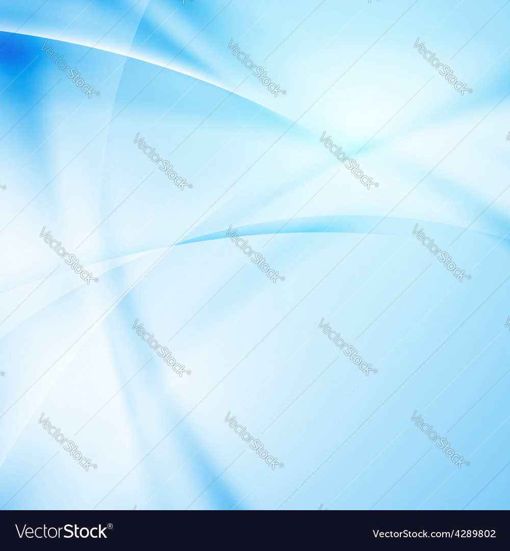 Abstract modern blue light ray background vector | Price: 1 Credit (USD $1)