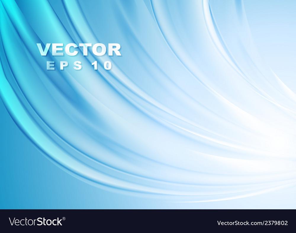 Bright blue wavy design vector   Price: 1 Credit (USD $1)