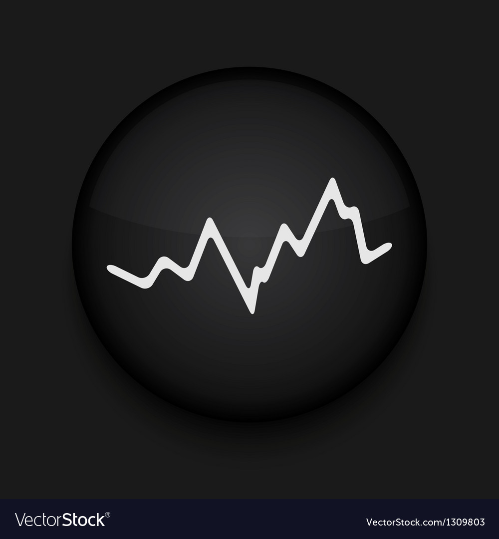 App circle stock black icon eps10 vector | Price: 1 Credit (USD $1)