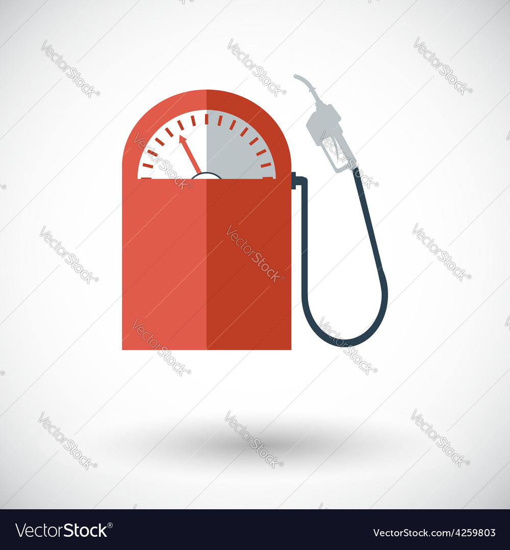 Icon gas station vector | Price: 1 Credit (USD $1)