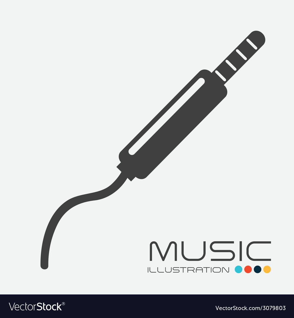 Music sound design vector | Price: 1 Credit (USD $1)