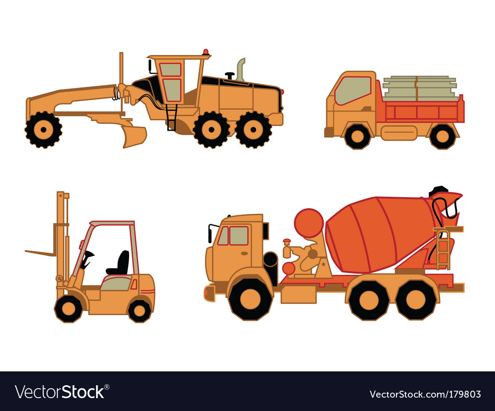 Onstruction cars vector   Price: 1 Credit (USD $1)