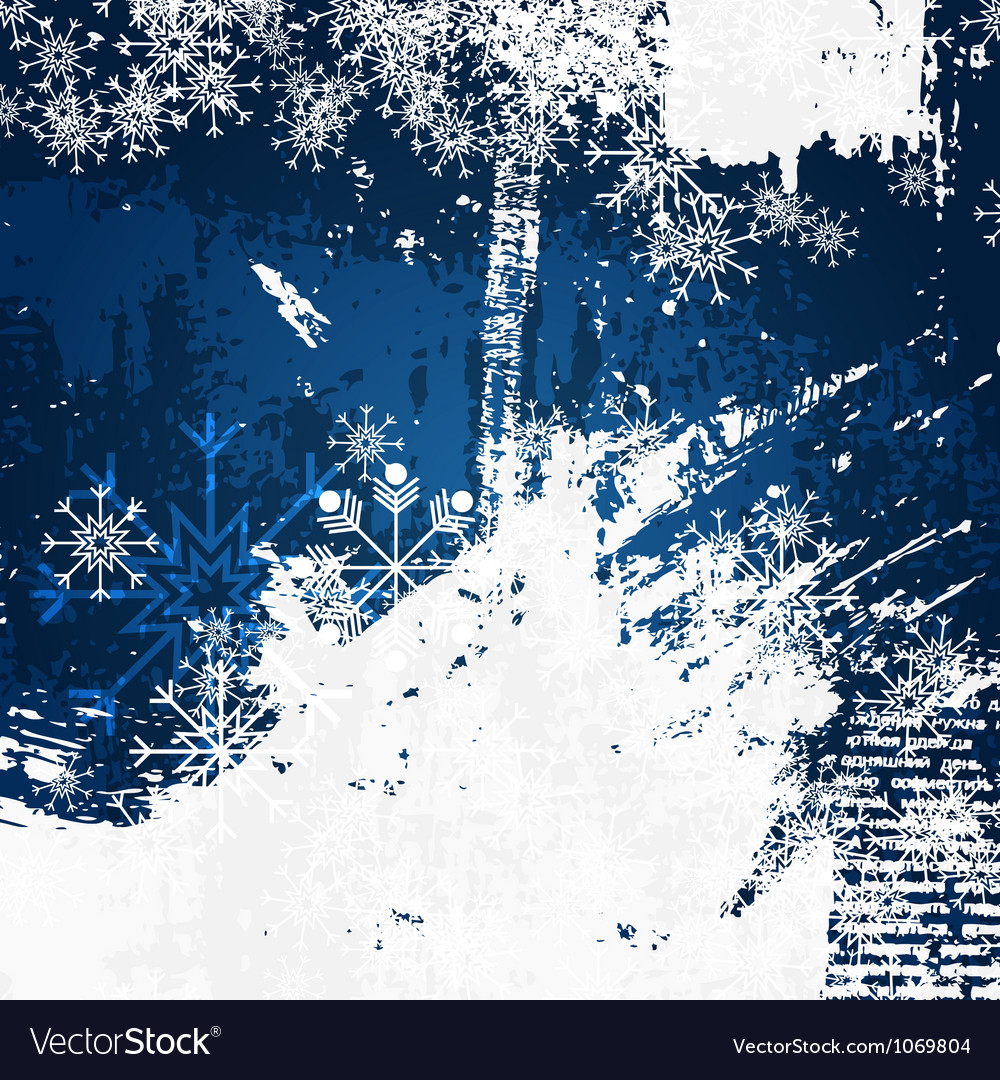 Christmas decoration grunge background vector | Price: 1 Credit (USD $1)