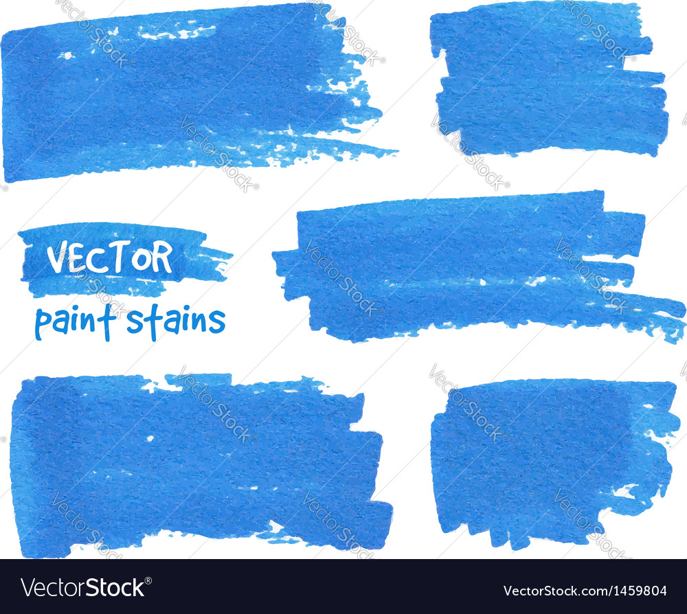 Spot of paint drawn by felt pen vector | Price: 1 Credit (USD $1)