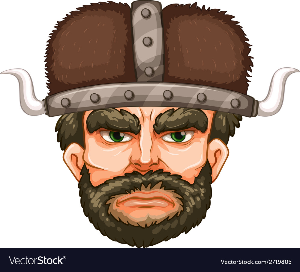 Viking warrior vector | Price: 1 Credit (USD $1)