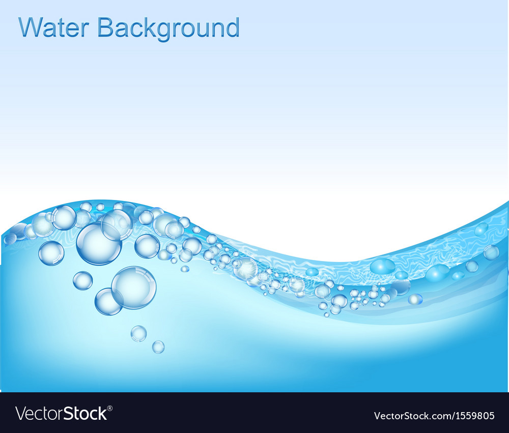 Water background vector | Price: 1 Credit (USD $1)