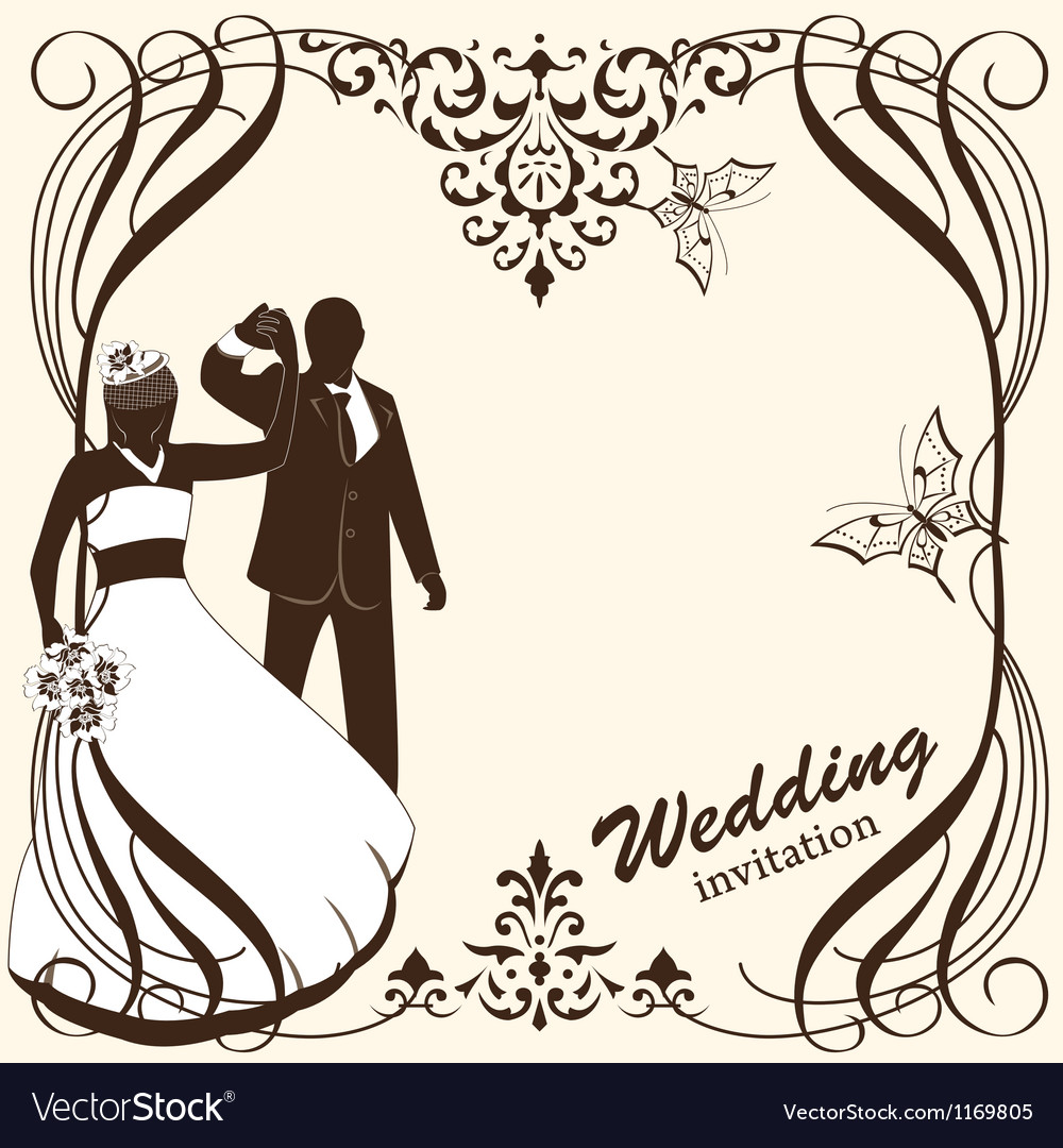 Wedding card invitation vector | Price: 1 Credit (USD $1)