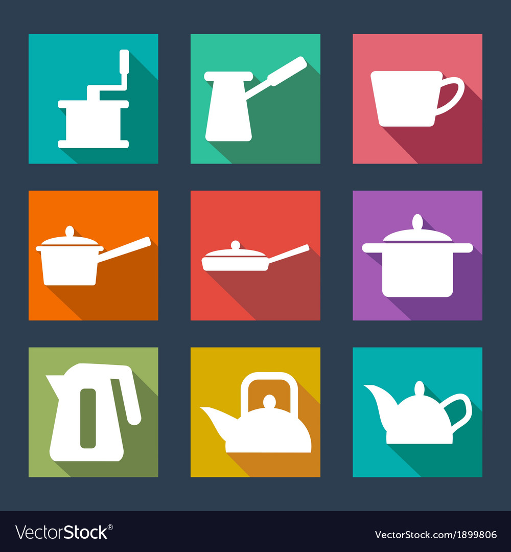 Cutlery icons vector   Price: 1 Credit (USD $1)