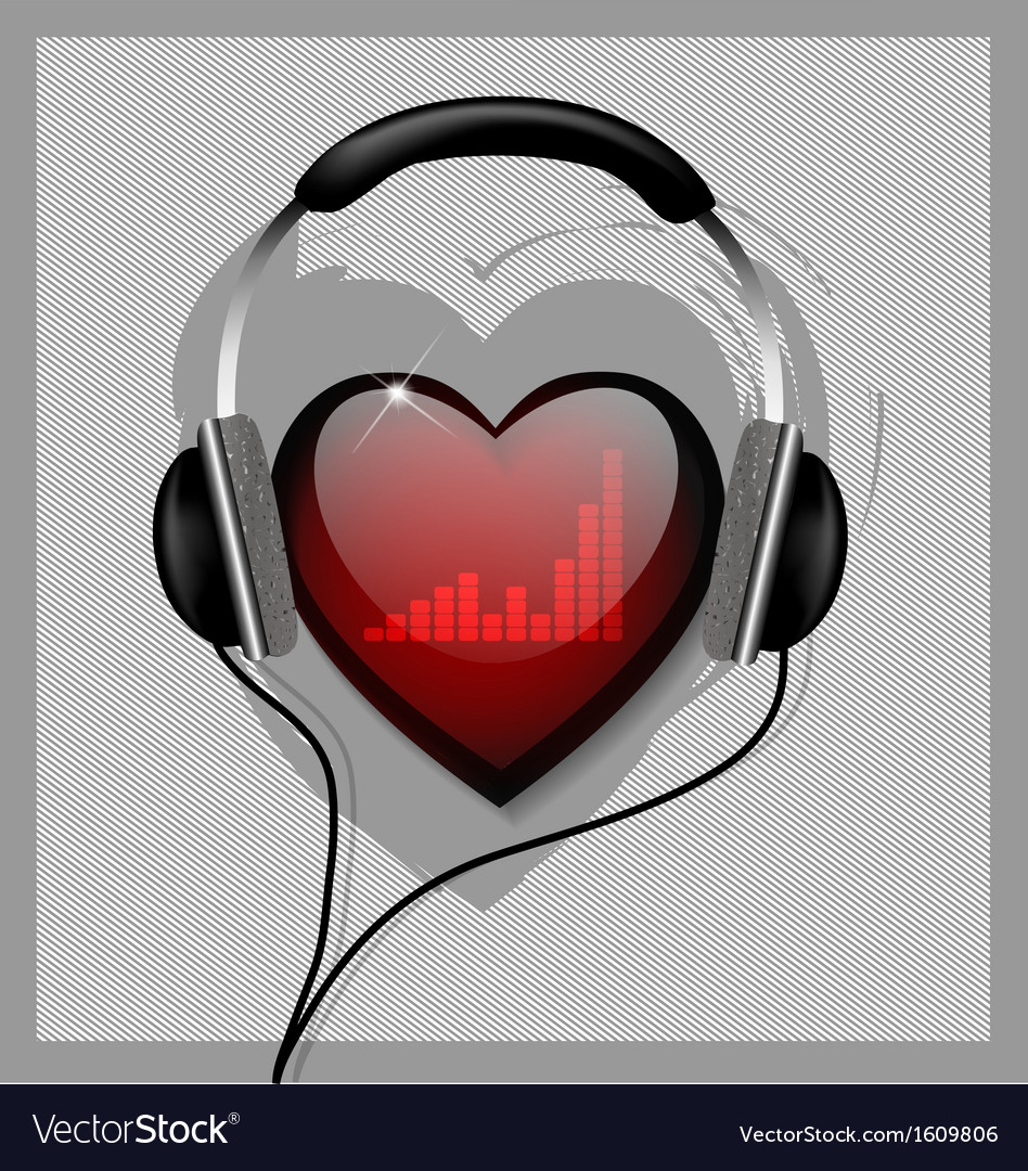 Hear your heart vector | Price: 1 Credit (USD $1)