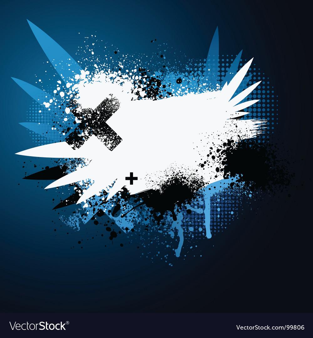 Paint splatter vector | Price: 1 Credit (USD $1)