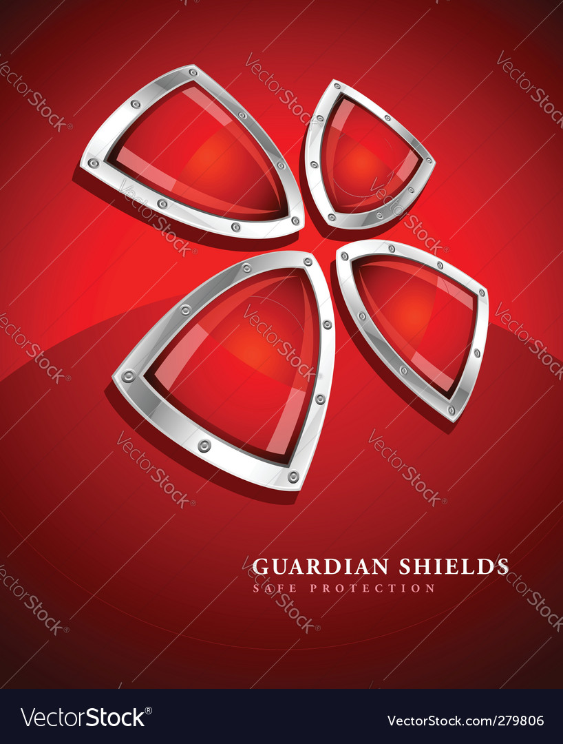 Security shield symbol icon vector | Price: 1 Credit (USD $1)