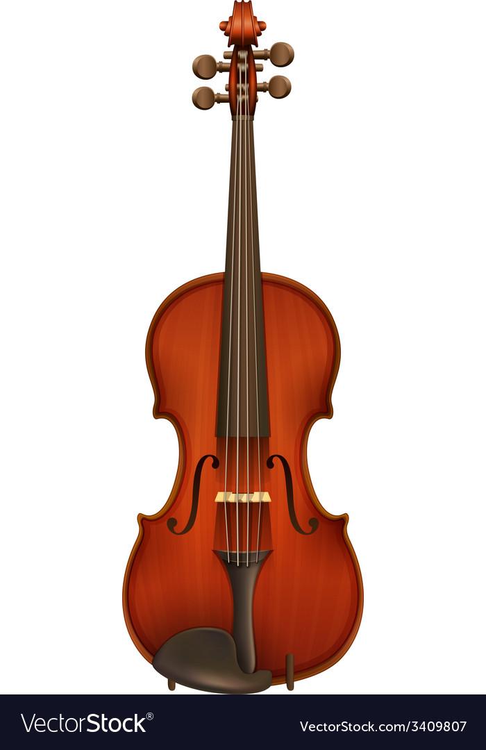 A violin vector | Price: 1 Credit (USD $1)
