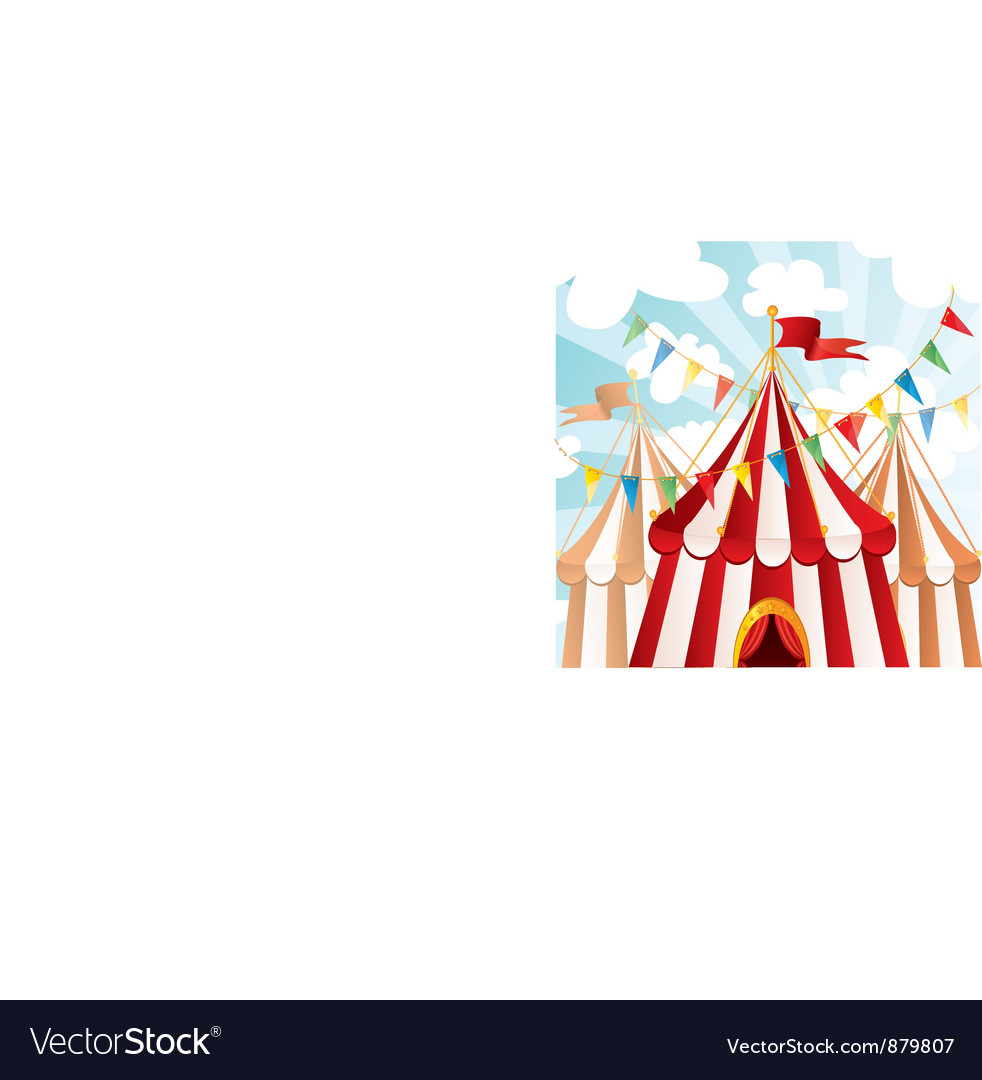 Circus background vector | Price: 3 Credit (USD $3)