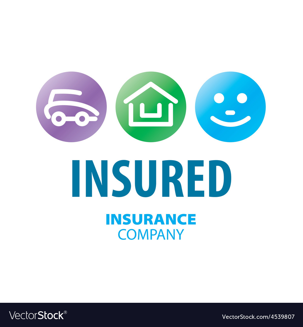 Logo for life insurance car and real estate vector | Price: 1 Credit (USD $1)