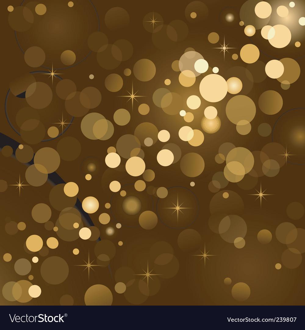 Magic lights background vector | Price: 1 Credit (USD $1)