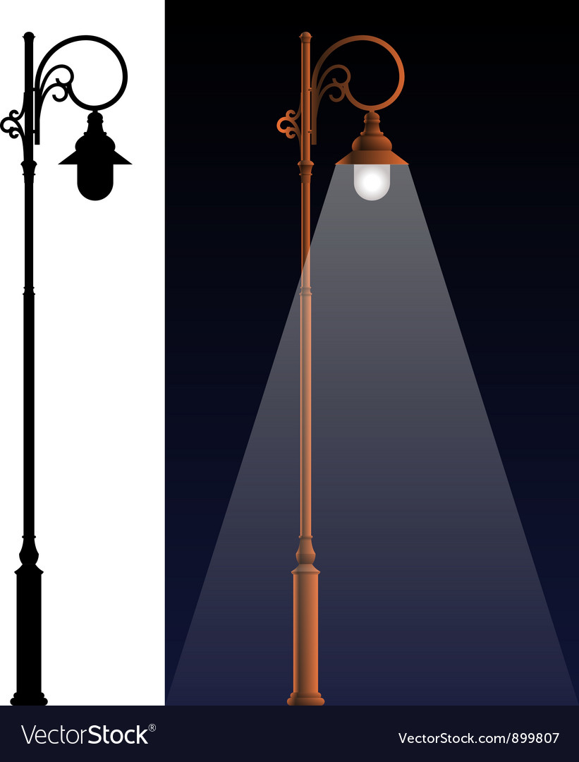 The old lamp vector | Price: 1 Credit (USD $1)