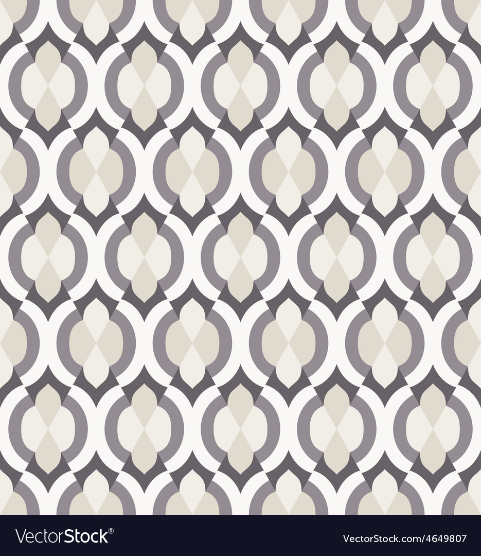 Seamless pattern in moroccan style vector | Price: 1 Credit (USD $1)