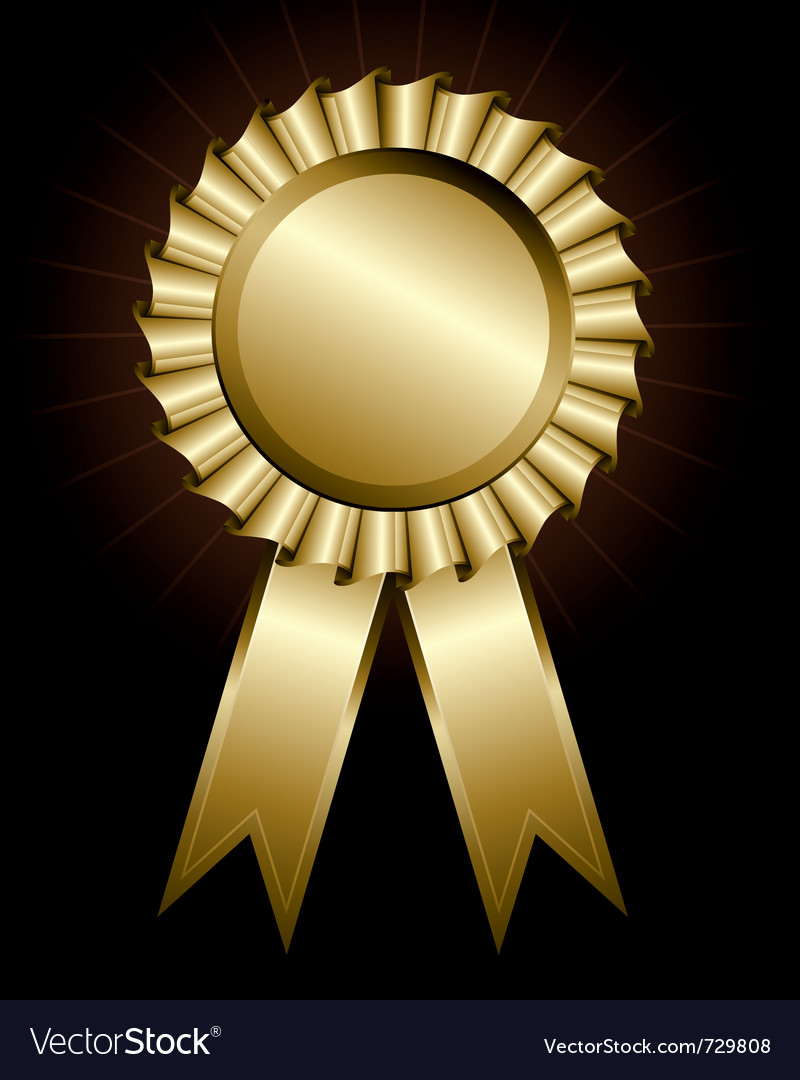 Award ribbon vector | Price: 1 Credit (USD $1)
