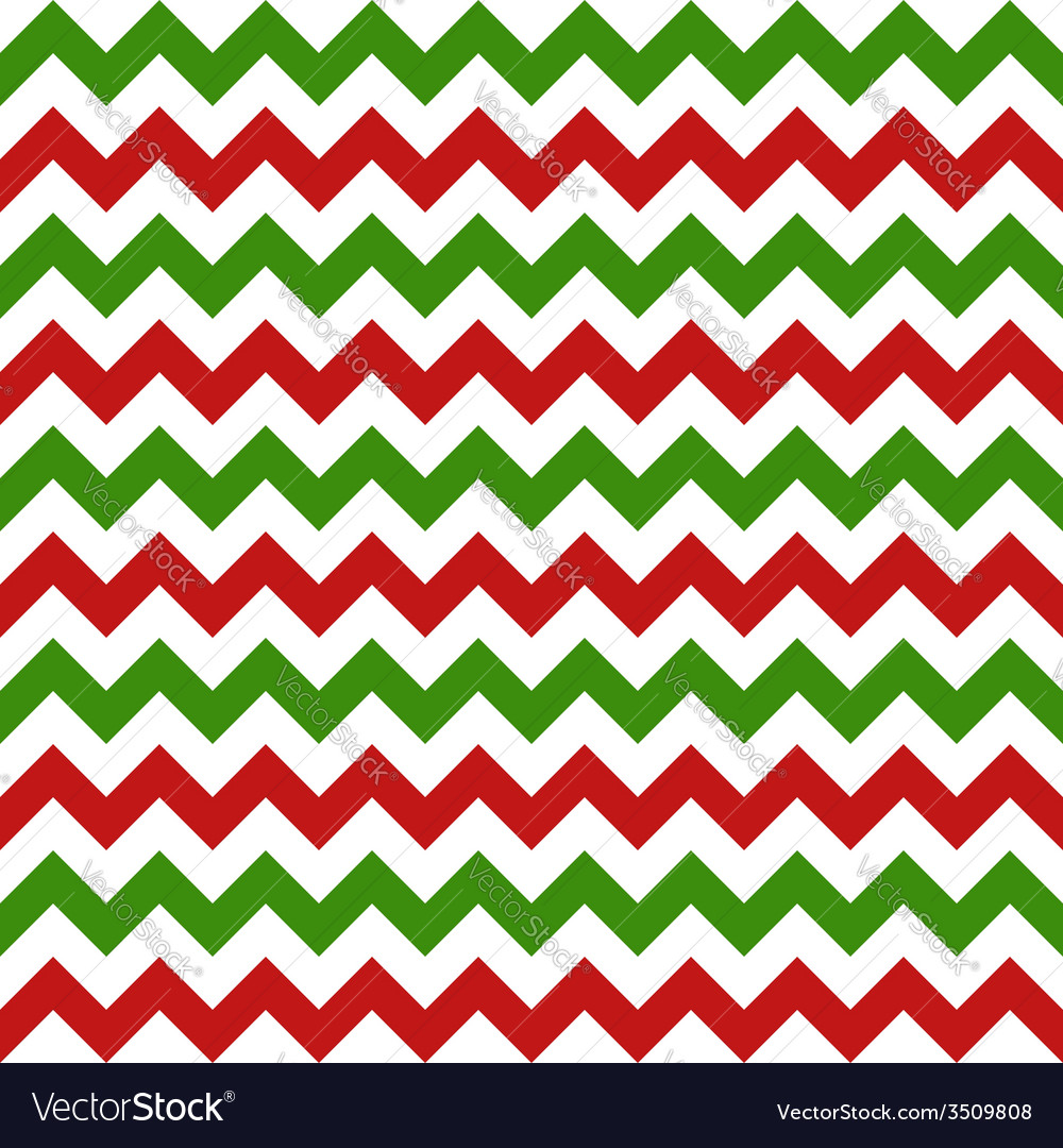 Christmas chevron seamless pattern vector | Price: 1 Credit (USD $1)