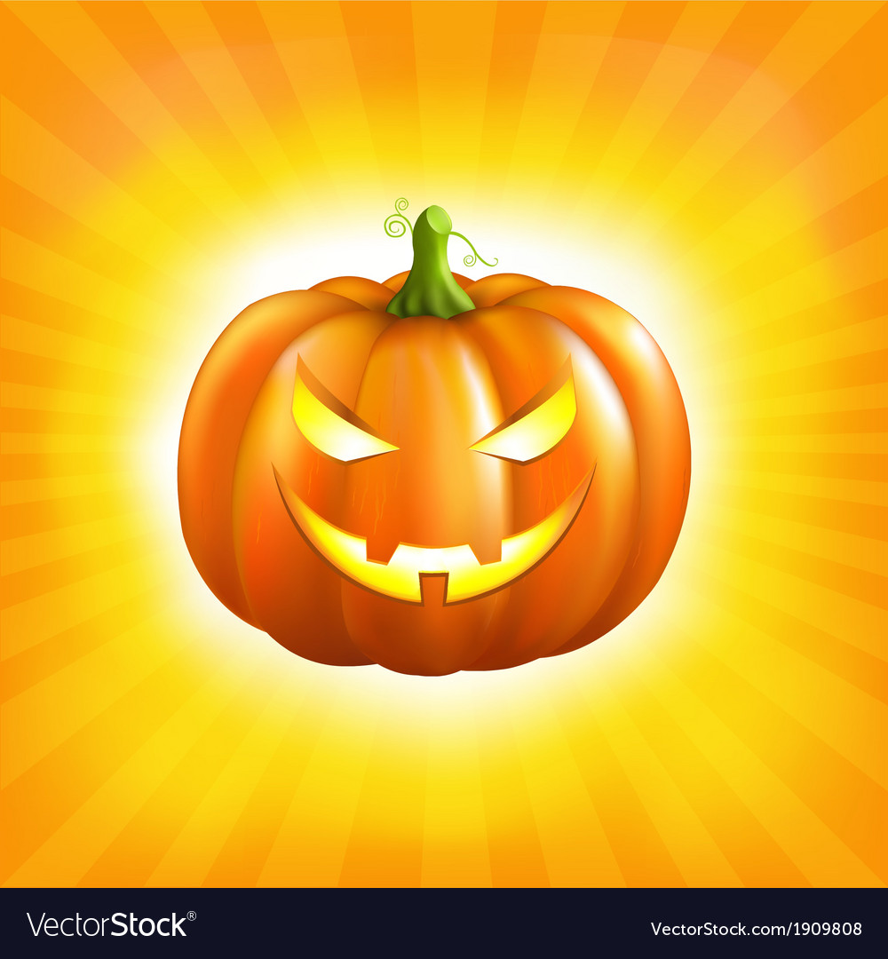 Sunburst halloween background vector | Price: 1 Credit (USD $1)