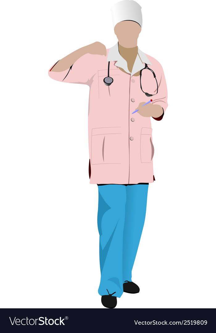 Al 0336 nurse 02 vector | Price: 1 Credit (USD $1)
