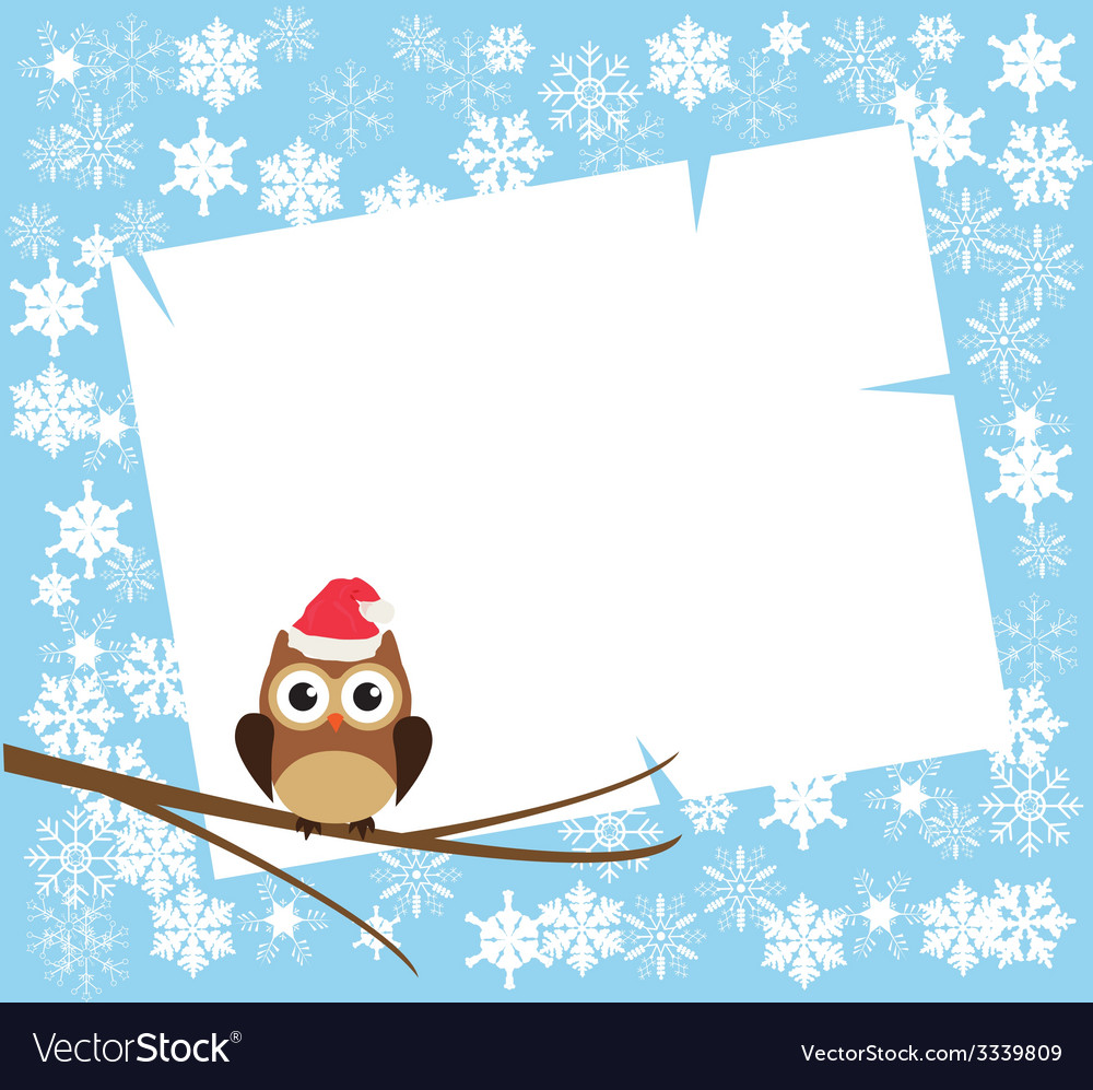 Card winter vector | Price: 1 Credit (USD $1)
