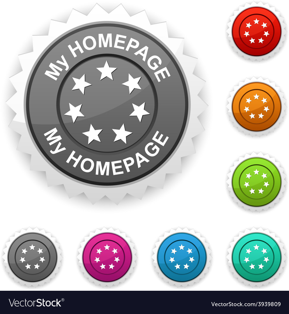 My homepage award vector | Price: 1 Credit (USD $1)