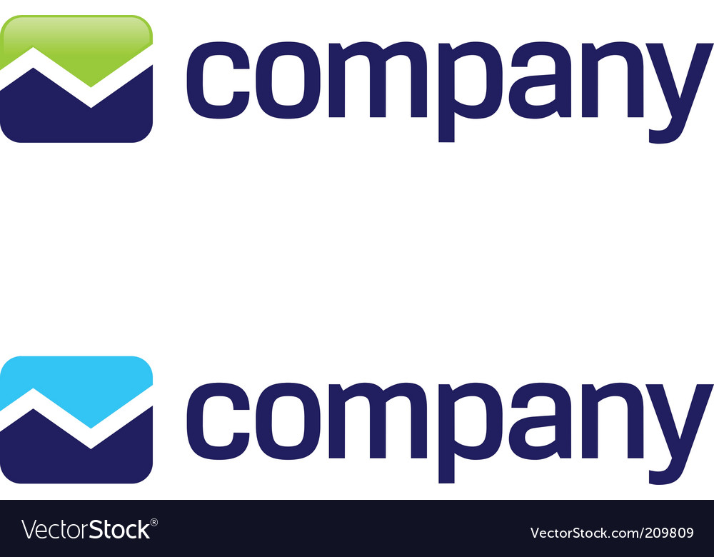 Stock market arrow logo vector | Price: 1 Credit (USD $1)